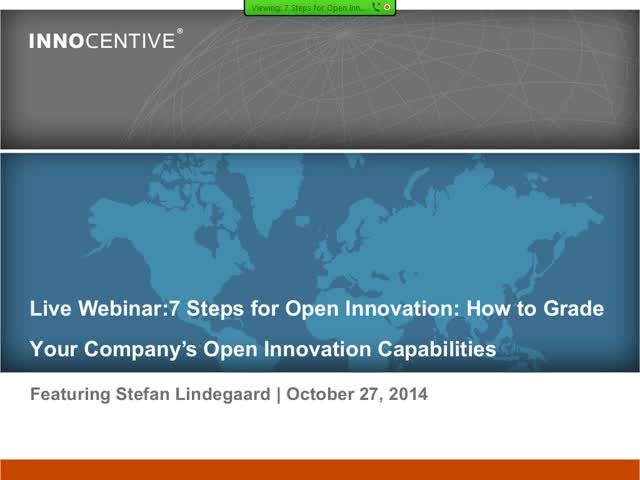 7 Steps to Open Innovation | How to Grade your Company's OI Capabilities