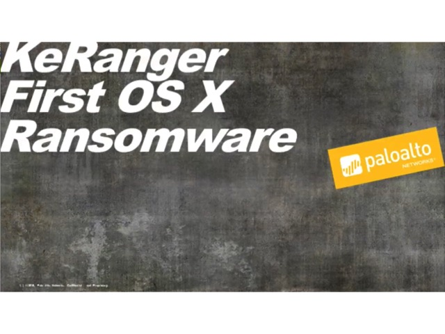 KeRanger - First Ransomware detected for Mac OS X