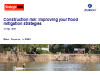 Construction risk: Improving your flood mitigation strategies