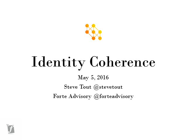 Improve CX, Productivity, Revenues and Security with Identity Coherence