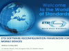 ETSI Software Reconfiguration Framework for Mobile Devices