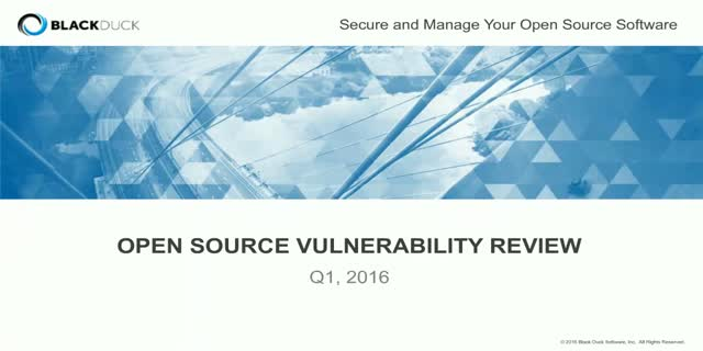 Q1 2016 Open Source Security Report: Glibc and Beyond