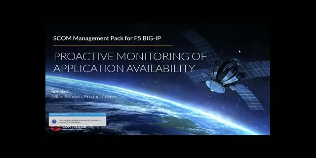 Proactive Monitoring of Application Availability