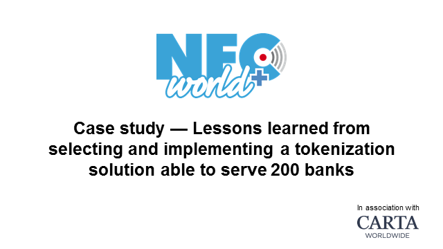 Case study: Lessons learned from implementing a tokenization solution