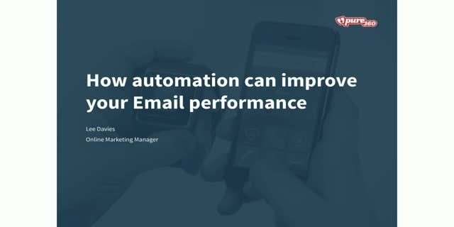 How automation can improve your email performance