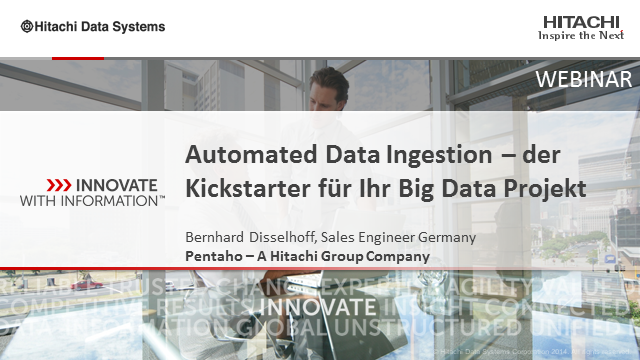 Automated Data Ingestion – der Kickstarter für Ihr Big Data Projekt