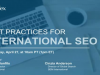 Best Practices for International SEO