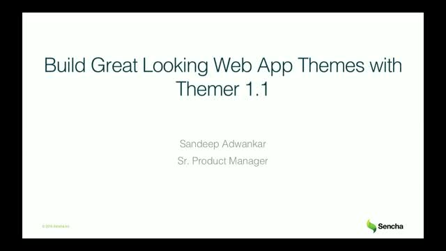 SNC - Build Great Looking Themes with Themer 1.1