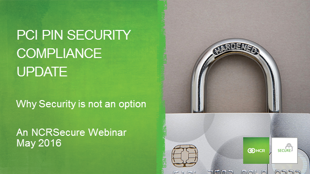 ATM Security: More PCI Changes are coming – maintain your compliance