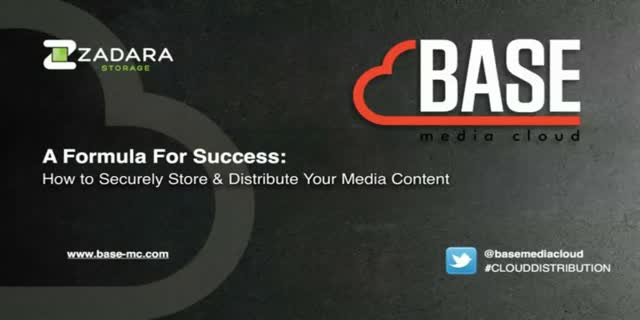 A Formula For Success: How to Securely Store & Distribute Your Media Content