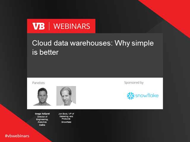 Cloud data warehouses: Why simple is better