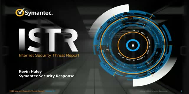 Key Findings from Symantec's 2016 Internet Security Threat Report