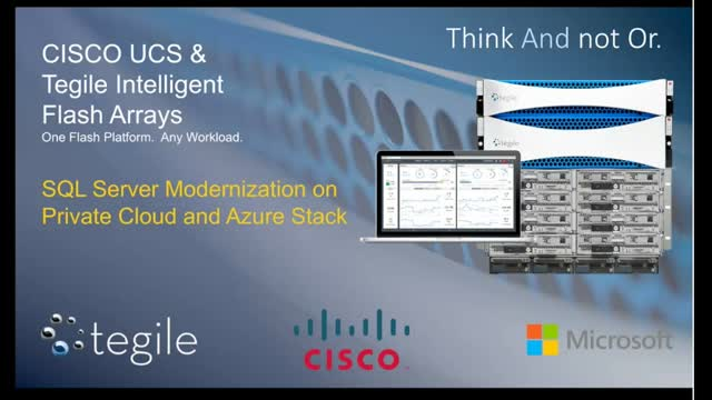 Modernize Your Microsoft SQL Data Platform with a Flexible Data Center Solution