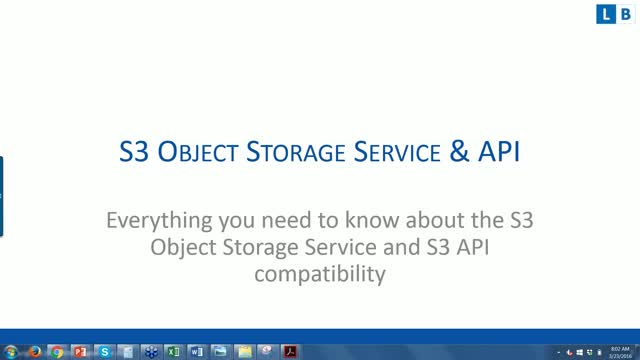 Everything you need to know about the S3 Object Storage Service and S3 API compa