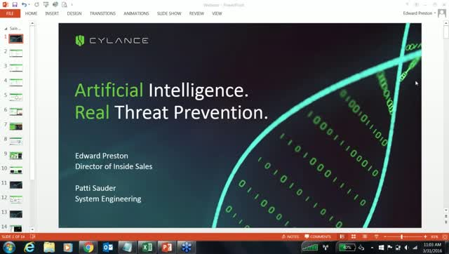 PROTECT Webcast - March 2016