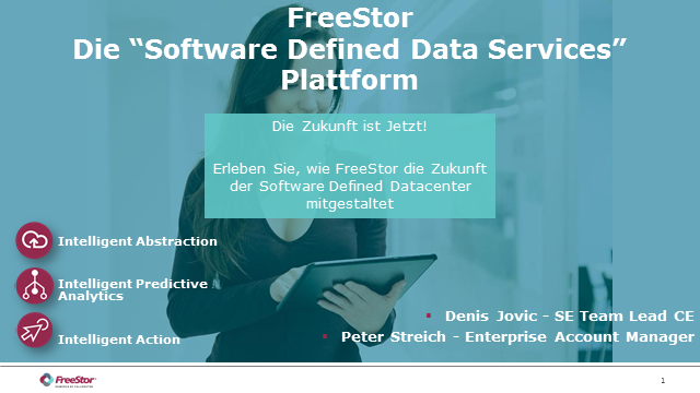 "FreeStor - Die ""Software Defined Data Services"" Plattform"
