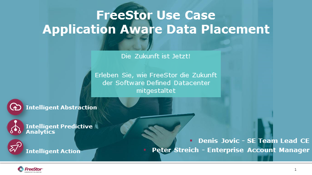 FreeStor Use Case: Application Aware Data Placement