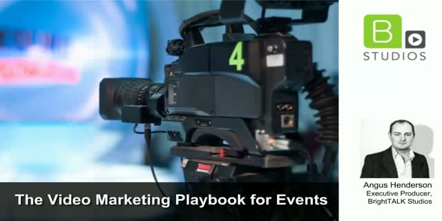 The Video Marketing Playbook for Events - EMEA Edition