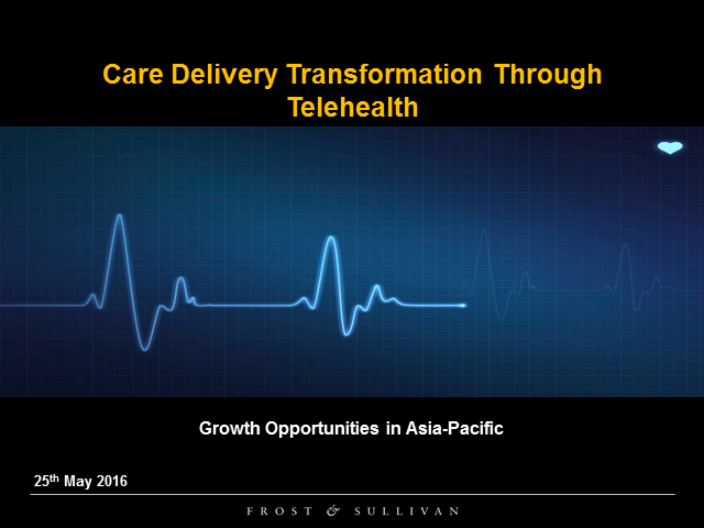 Care Delivery Transformation Through Telehealth – Growth Opportunities in APAC