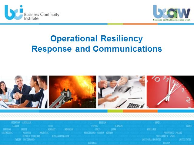 Resiliency Response & Comms: Your first-line of defense against a disruption