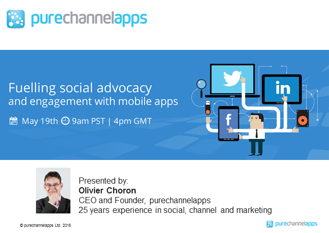 Fuelling social advocacy and engagement with mobile apps