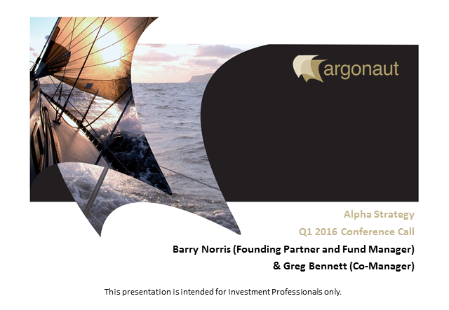 FP Argonaut European Alpha and Argonaut Pan European Alpha Fund Q1 Update