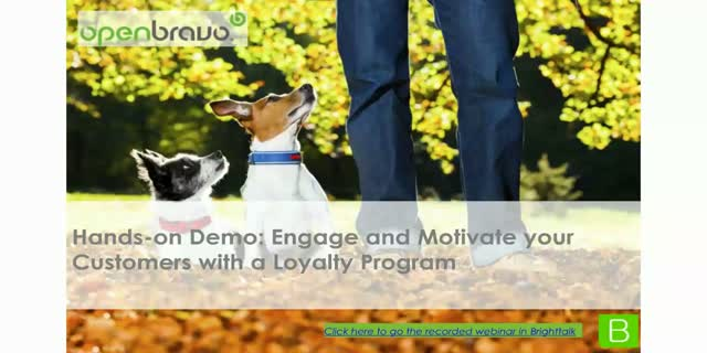 Hands-on Demo: Engage and Motivate your Customers with a Loyalty Program