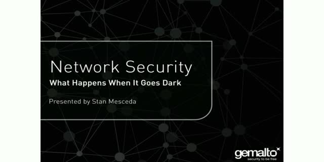 Network Security: What Happens When It Goes Dark