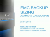 EMC Business Partner Webinar: Backup Dedupe Sizing Made Easy