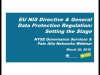 EU NIS Directive & General Data Protection Regulation: Setting the Stage