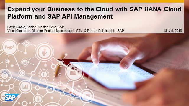 Accelerate Innovation in the Cloud with SAP HANA Cloud Platform