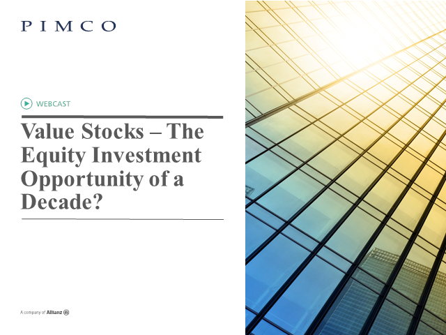 Value Stocks – The Equity Investment Opportunity of a Decade?