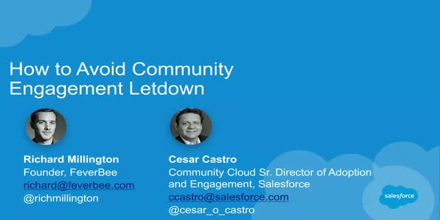How to Avoid Community Engagement Letdown