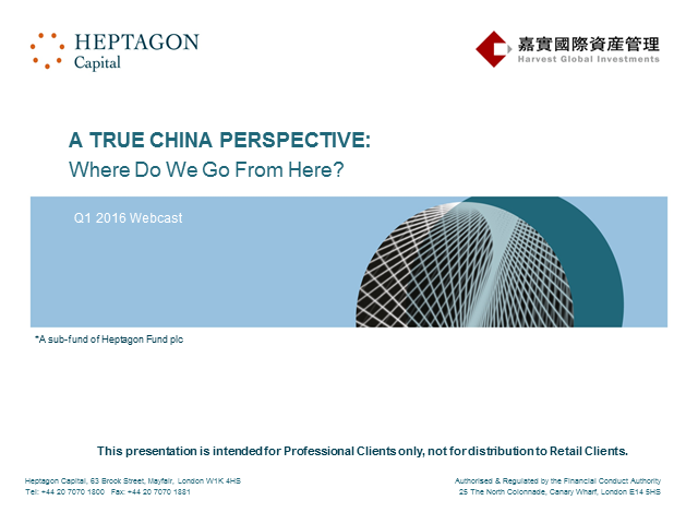 A True China Perspective: Where do we go from here?