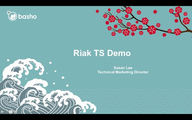 Product Demo: Riak Time Series