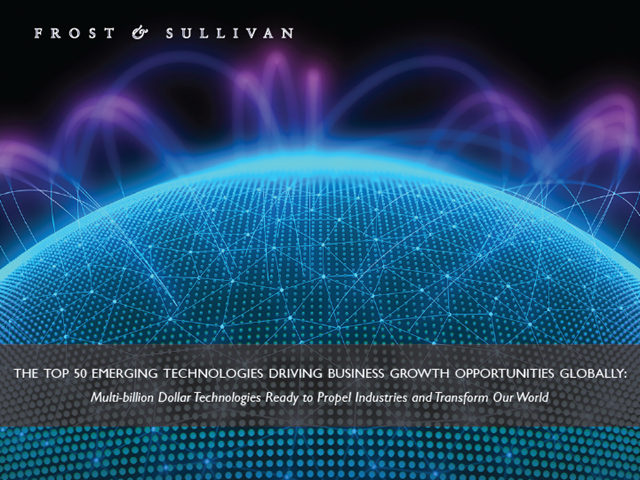 The Top 50 Emerging Technologies Driving Business Growth Opportunities Globally