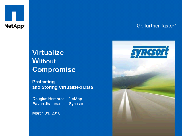 Virtualize without Compromise