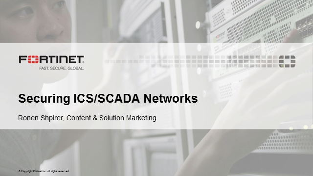 Securing ICS/SCADA Networks