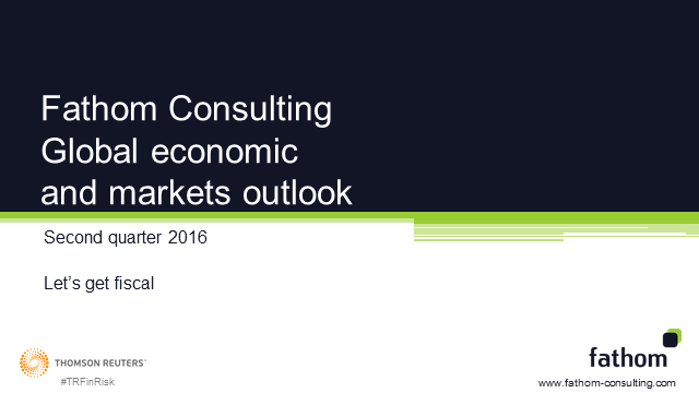THOMSON REUTERS: GLOBAL ECONOMIC AND MARKETS OUTLOOK Q2