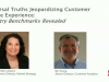 Universal Truths Jeopardizing Customer Service Experience: Benchmarks Revealed