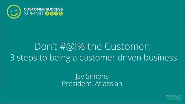 Don't #@!% the Customer - 2 Steps to Being a Customer Driven Business