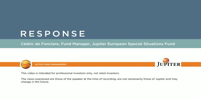 Response – Jupiter European Special Situations Fund