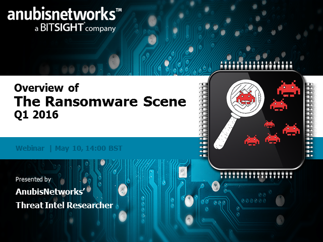 Overview of the Ransomware scene in 2016