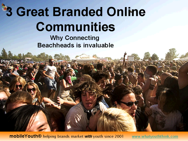 Branded Online Communities - Bringing Your Beachheads Together