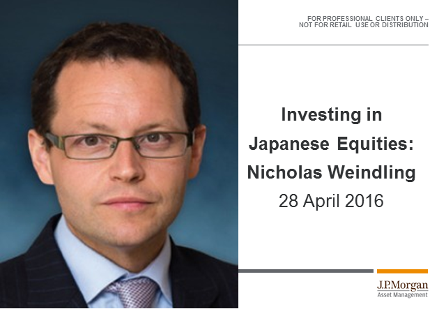 J.P. Morgan Japan update
