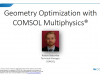 Geometry Optimization with COMSOL Multiphysics®