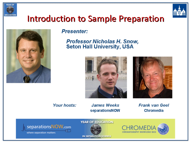 Introduction to Sample Preparation