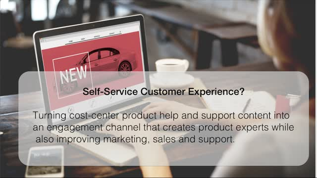Using Self Service to Enrich the Customer Experience
