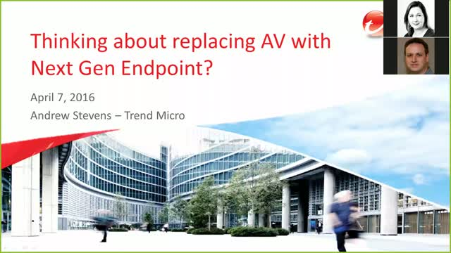 Thinking About Replacing AV with Next Gen Endpoint?
