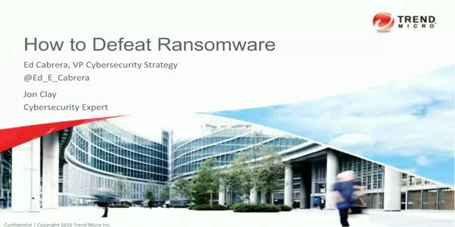 How to Defeat Ransomware